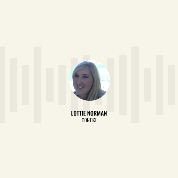 Lottie Norman of Contiki, Guest on Episode 5 of Talking Shop podcast